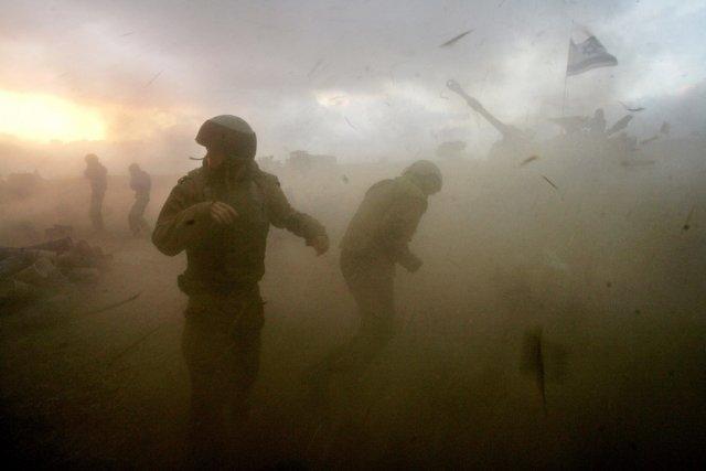 Soldats israéliens au Sud Liban en 2006