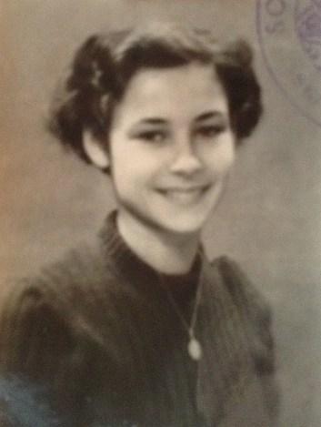 Ma mère à 20 ans