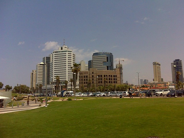 Parc Sir Charles Clore park à Tel Aviv
