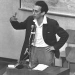 Abba Kovner au procès Eichmann en 1961