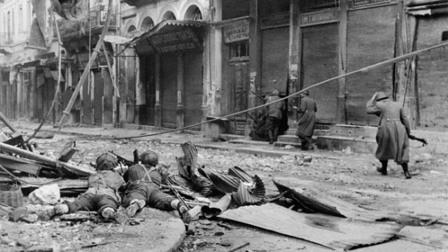 Athènes, décembre 1943