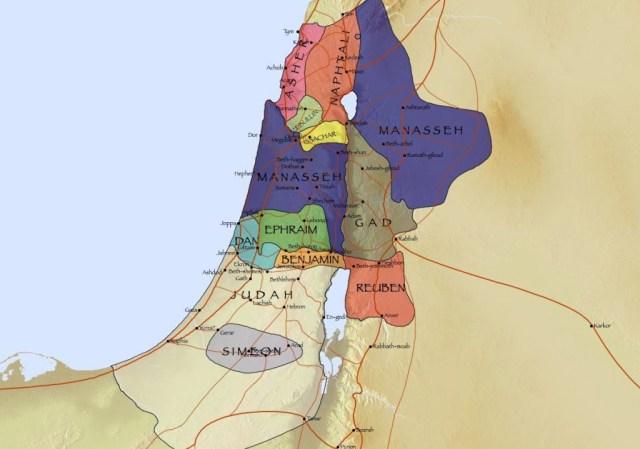 Territoire des Douze Tribus d'Israël