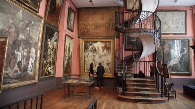 Atelier de Gustave Moreau à Paris