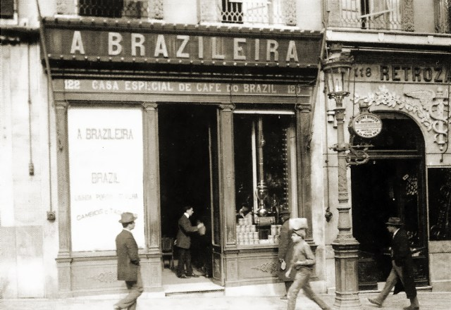 Brazileira, Chiado 1925