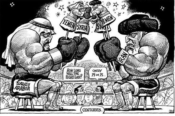 Iran contre Arabie Saoudite
