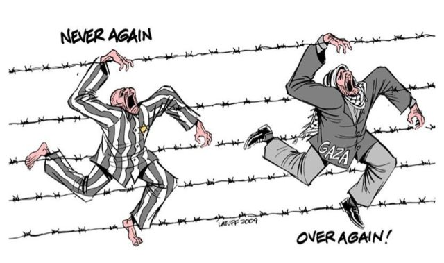 Caricature Gaza