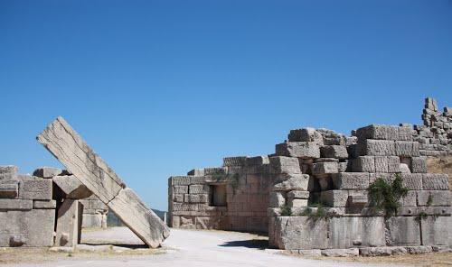Porte d'Arcadie à Messène