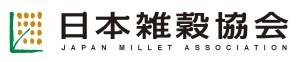 日本雑穀協会ロゴ ヨコ