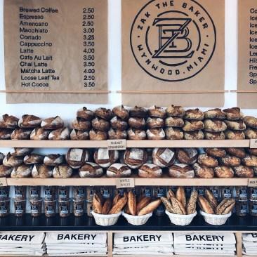 Bread Display at Bakery