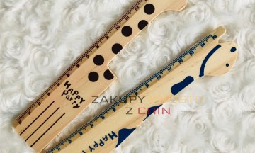 Drewniane linijki