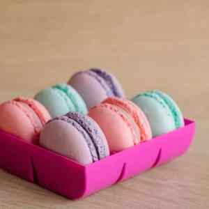 Makrónka krabička 6 kusov. Ružová cukráreň Nitra