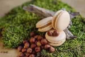 Makrónka lieskový orech. Ružová cukráreň Nitra