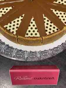 Cheesecake gaštanový. Ružová cukráreň Nitra