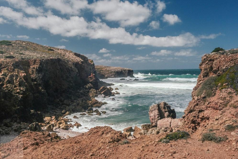 Gdzieś na zachodnim wybrzeżu Algarve