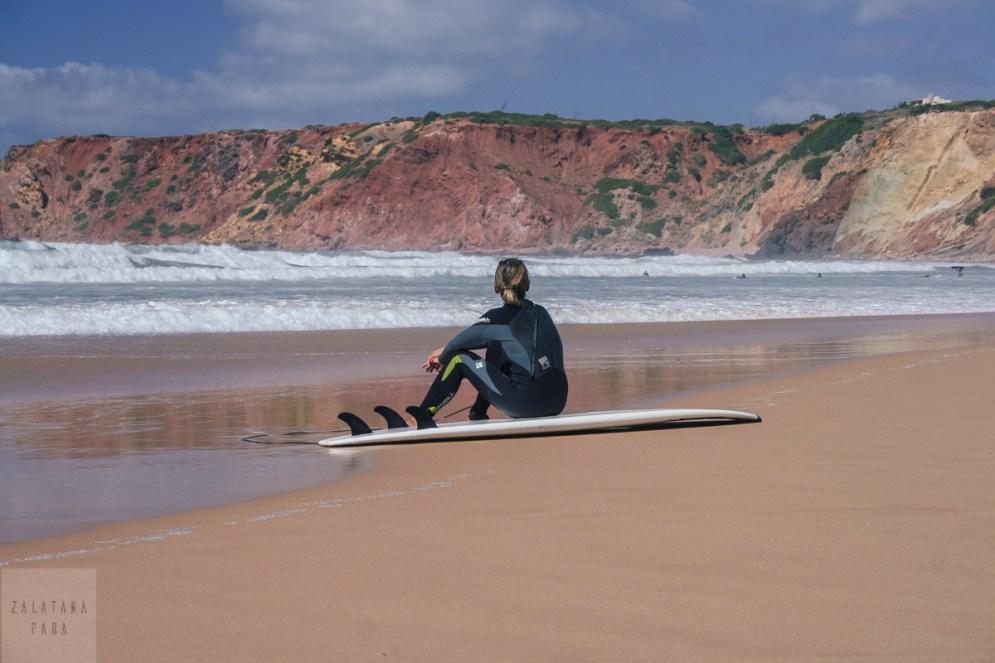 Praia do Amada - mekka surferów