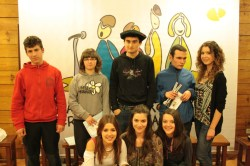 2013: 2013: Nafarroako 14-18 urte bitarteko Eskolarteko Bertsolari Txapelketa.