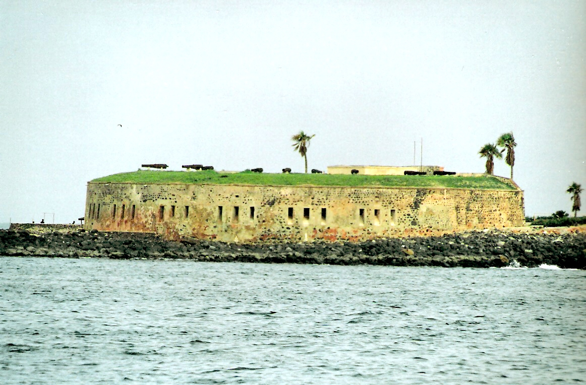 """To νησί Gorée, γνωστό ως Maison des esclaves (""""σπίτι των σκλάβων"""