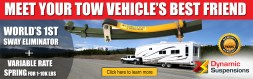 It was an honor to interview Dynamic Suspensions, Torklift International, Roadmaster Active Suspension, and Super Springs for an editorial with RV PRO.