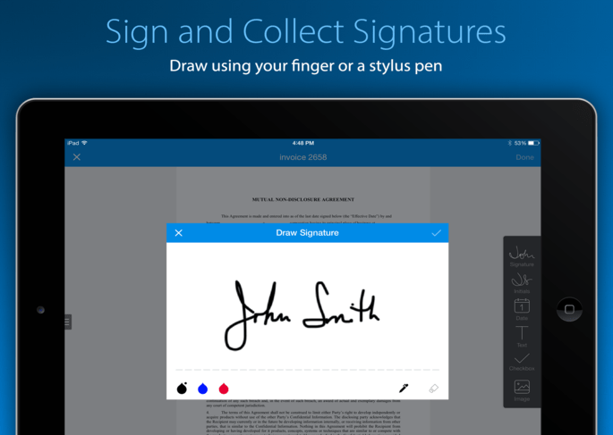SignEasy is one of the most clever productivity apps on the market.