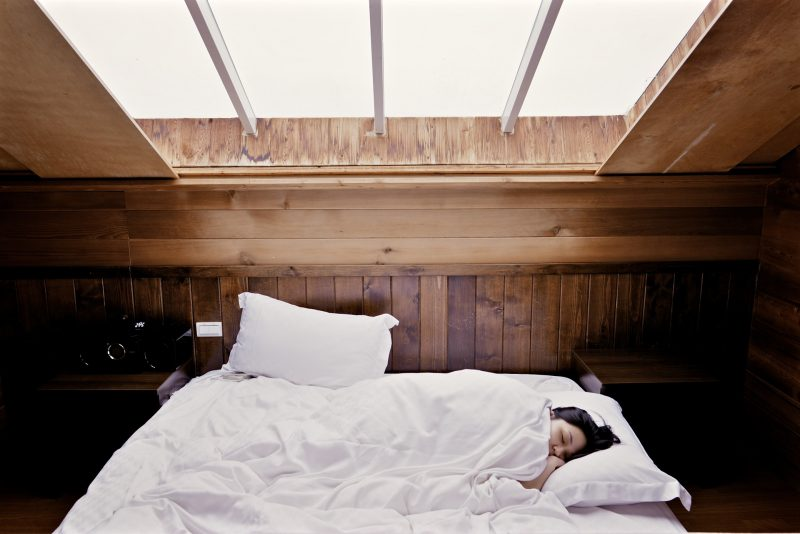 Creating a restful space is an important part of establishing healthy sleep patterns.