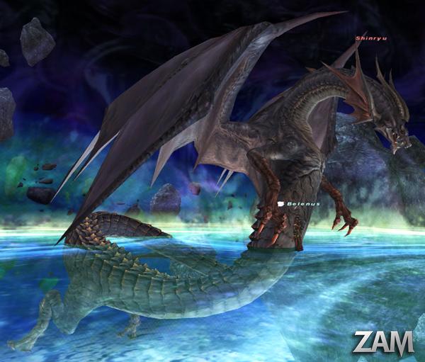 Shinryu Bestiary Final Fantasy XI ZAM