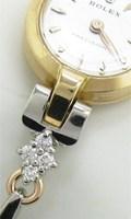 アンティークロレックスに付けるメレダイヤ付きブレスレットを制作
