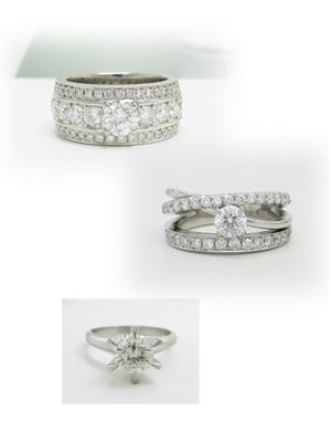 幅広の指輪へリフォーム画像