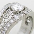 ダイヤモンドリングのリフォーム、メレダイヤ、幅広