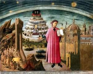 Domenico-di-Michelino-Dante-Alighieri-and-the-allegory-of-the-Divine-Comedy-and-the-town-of-Florence-1465