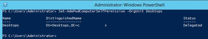 Set-AdmPwdComputerSelfPermission