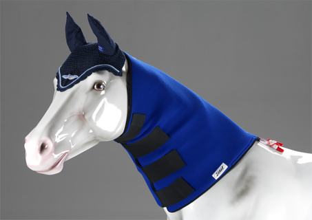 equine thermic neck wrap