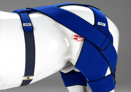 Equine stifle thermic wrap