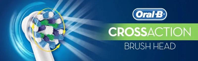 Rezerve Cross Action Periuta Electrica Oral-B
