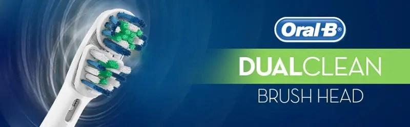 Rezerve dual clean Periuta Electrica Oral-B