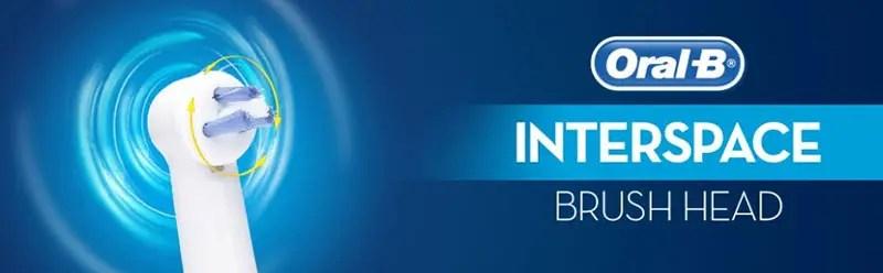Rezerve power tip / interspace Oral-B