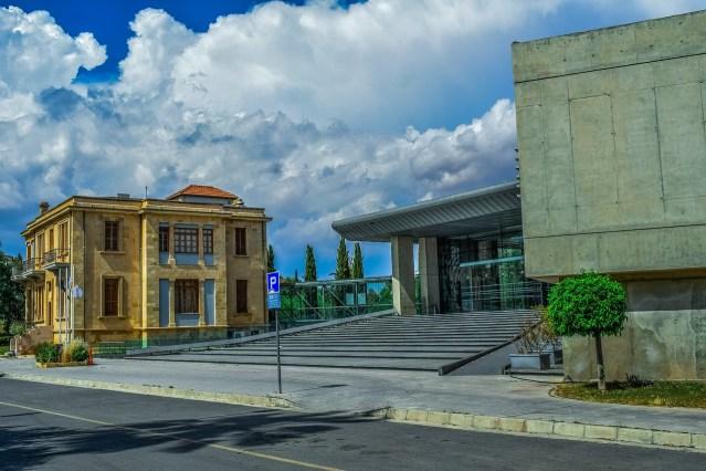 Supreme Court Nicosia, New and Old