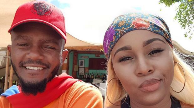 Kwesta and his wife