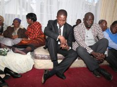 President Lungu at Victoria Kalima Funeral