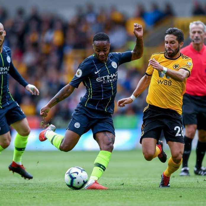 Wolves hold Man City in a 1 all draw