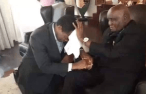 Kenneth Kaunda and Hakainde Hichilema