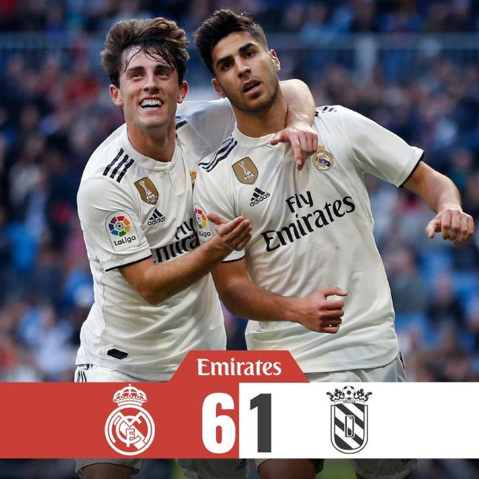 Real Madrid win 10 – 1 in Spanish Super Cup