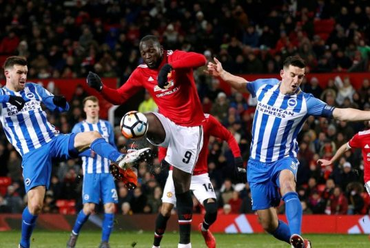 BRIGHTON HOVE ALBION VS MAN UNITED