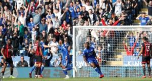 Leicester 2 - 0 Bournemouth