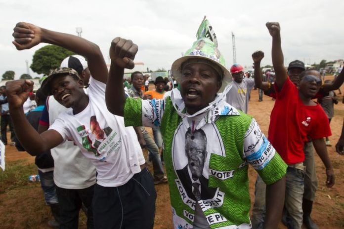Man arrested for destroying PF's campaign materials
