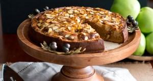 Gluten-free apple and almond cake
