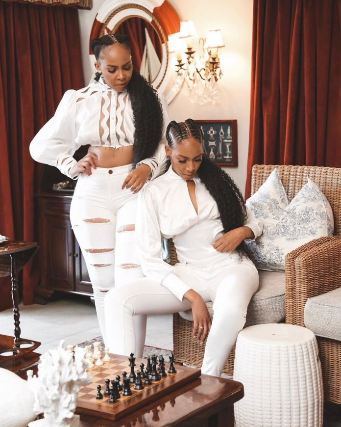 Blue and Brown Mbombo share their beautiful pre-birthday pictures