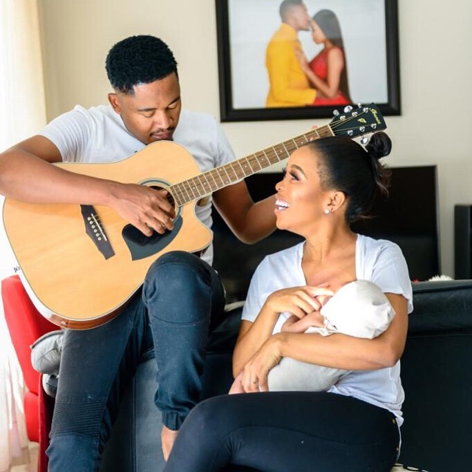 This video of Mmatema and her hubby singing for their Baby is the cutest thing ever (Watch)