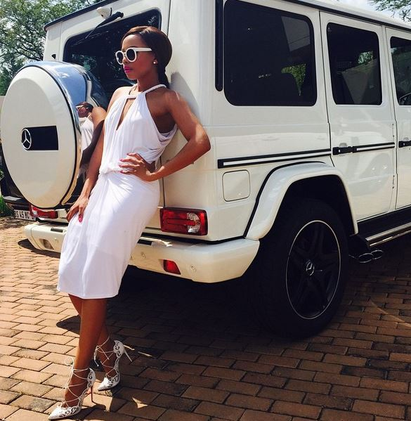 South African celebrities who own the expensive Mercedes Benz G Wagon