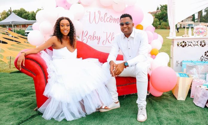 Inside Itumeleng Khune's wife Sphelele beautiful Baby Shower – Pictures