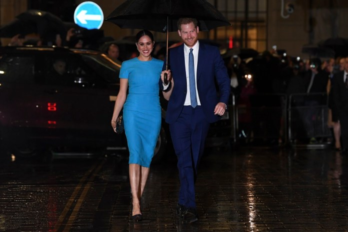 Prince Harry and Meghan attend first engagement since royal exit announcement